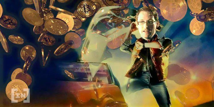 Edward Snowden: Ein Bild von BeInCryto.com