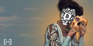 Bitcoin mit Maske