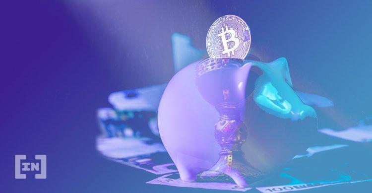 Bitcoin Bank Krypto Sparschwein