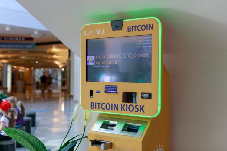 Bitcoin ATM.