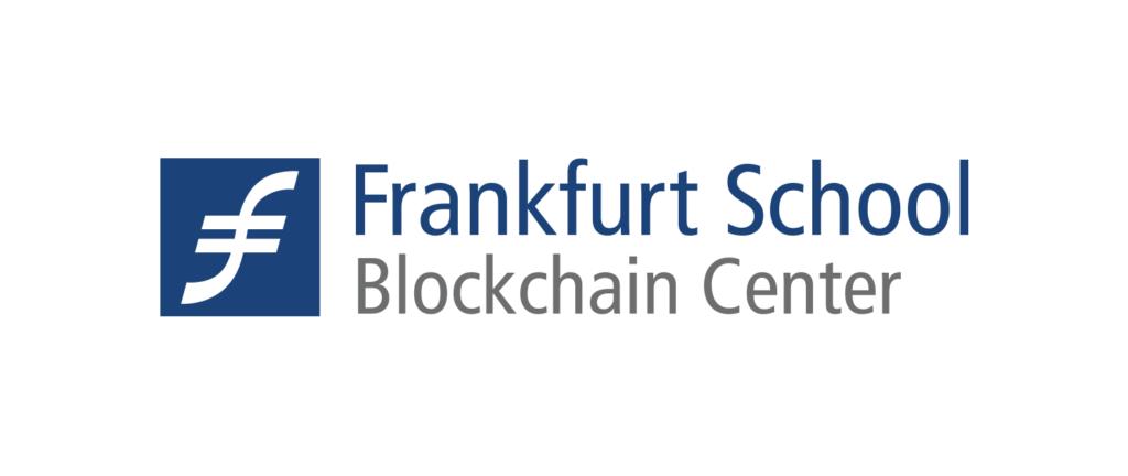 Logo Frankfurt School Blockchain Center.