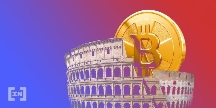 Bitcoin in Italien.