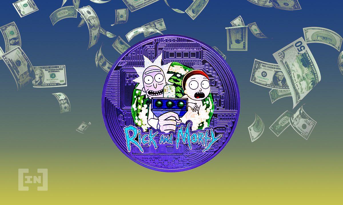 Rick und Morty NFT Kunst: 150.000 USD