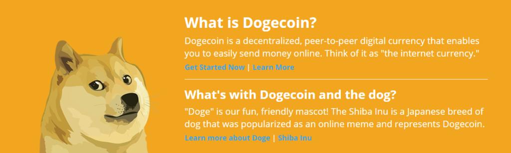 Ein Bild von Dogecoin
