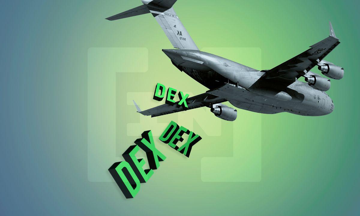 Bei welcher DEX gibt es den nächsten Airdrop?