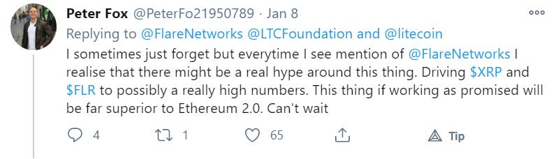 Ein Screenshot von Twitter.