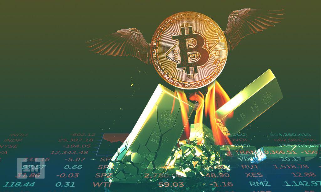 Bitcoin und Gold: Ein Bild von BeInCrypto.com