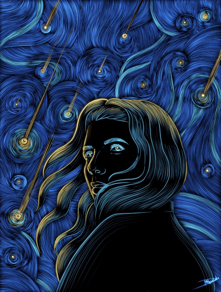 Krypto-Kunst: Ein bild von Daniella Attfield auf Sorare