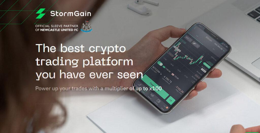 Stormgain Screenshot