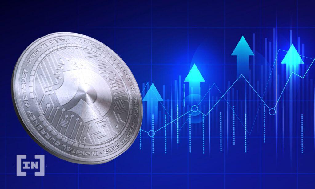 Bitcoin Kryptowährungen steigt