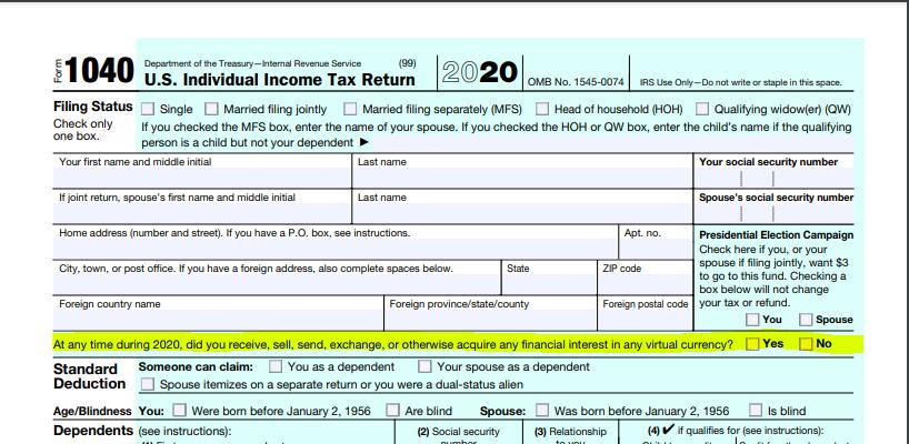 Screenshot der dem 1040 hinzugefügten Linie, gelb hervorgehoben.