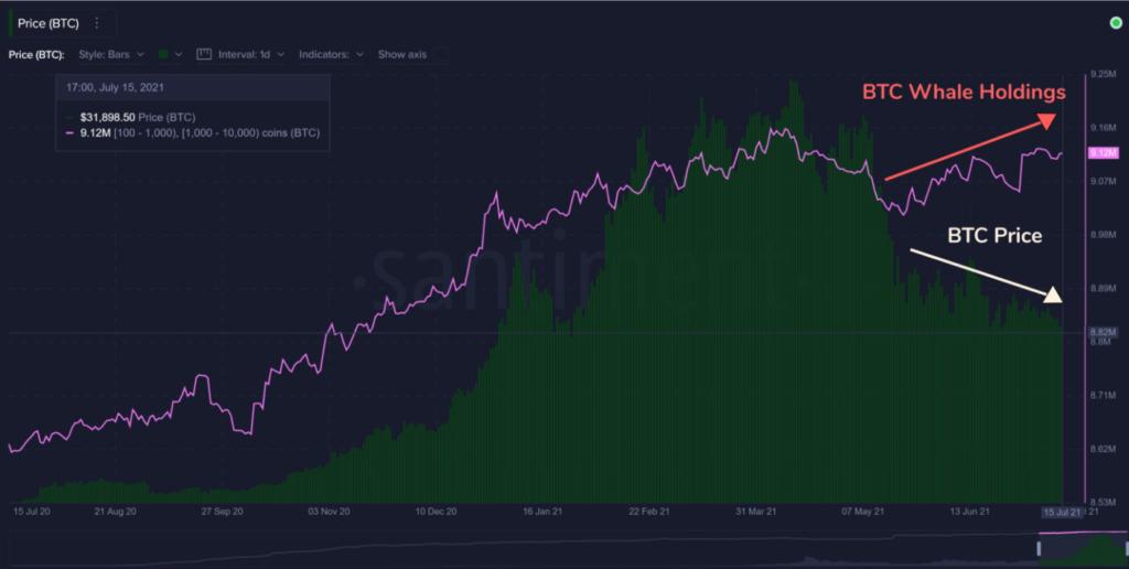 Bitcoin Whales Preis