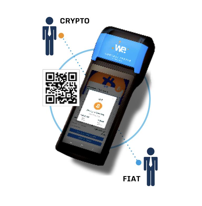 Wanda POS Exchange Krypto Fiat